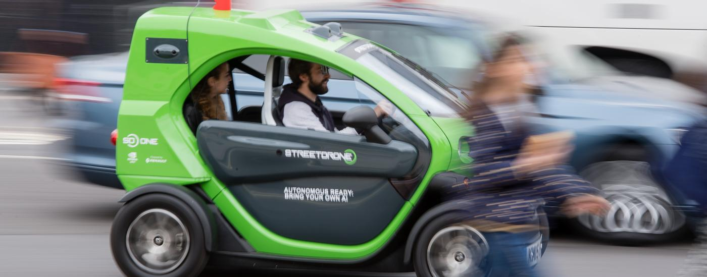 Connected and autonomous vehicles – set to 'revolutionise the way people and goods move'